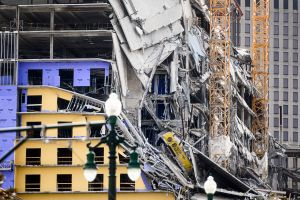 ICE detiene a obrero herido por colapso de construcción de hotel Hard Rock