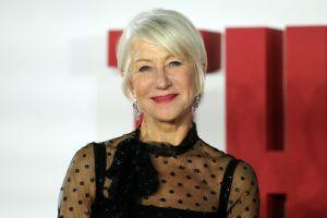 No hay edad para buscar el amor; Helen Mirren adora las aplicaciones de citas a sus 74 años