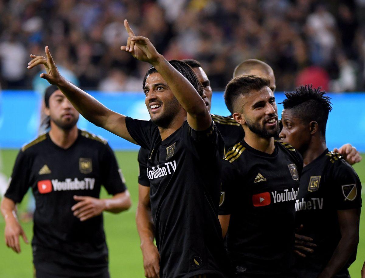 LAFC vence al LA Galaxy 5-3, en partido que Vela le enseñó a Zlatan quién manda