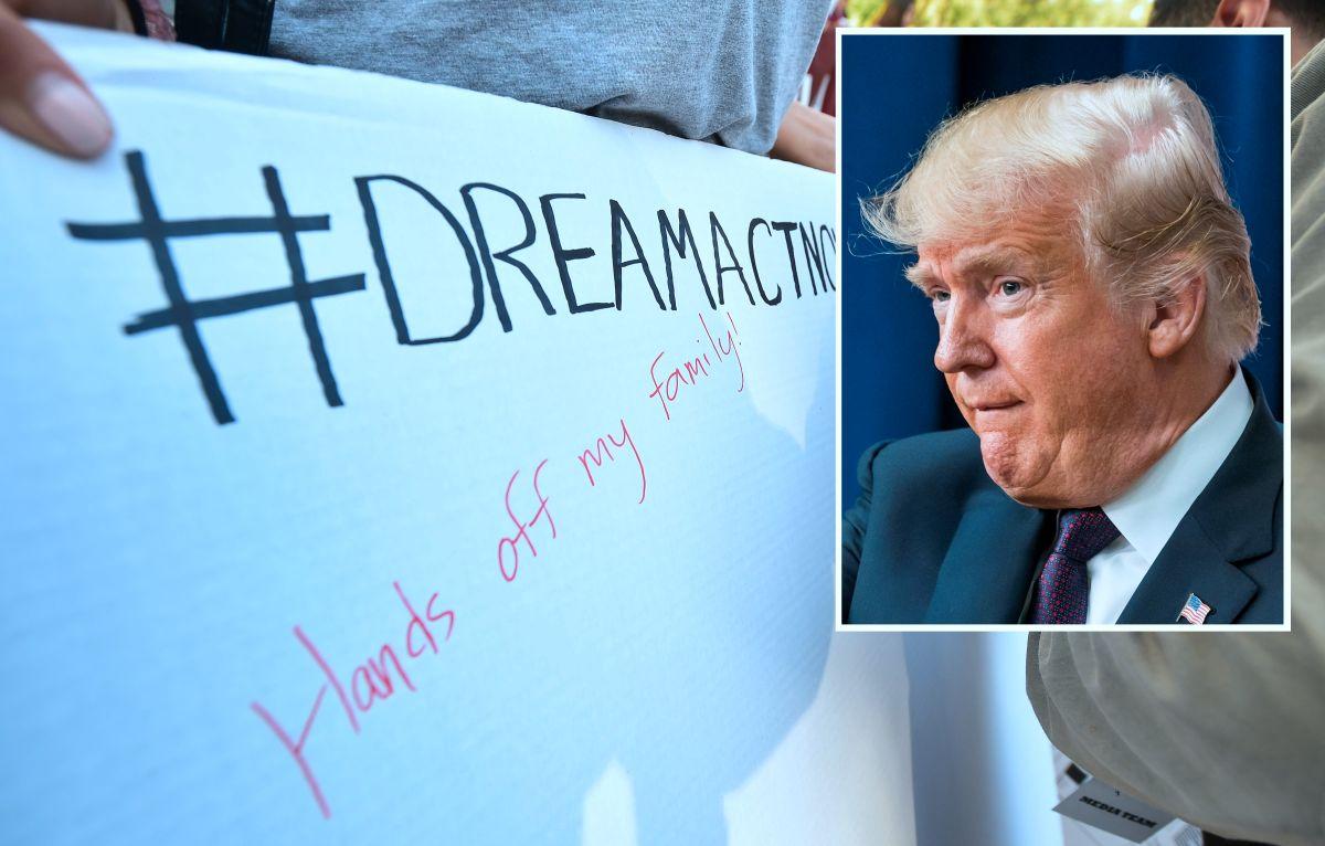 El presidente Trump ordenó la terminación de DACA.