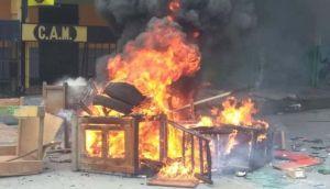 Las protestas de las que pocos hablan: las calles de Haití arden en llamas en reclamo de salida del presidente