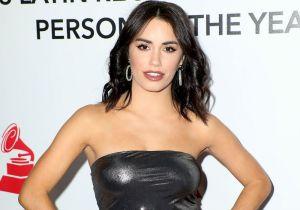 Con su nuevo look, Lali Espósito se muestra en un body blanco transparente