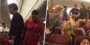 Pasajero borracho aterroriza a todo el avión