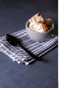¡Dulces antojos! Exquisita receta de gelatina de crema a la nuez