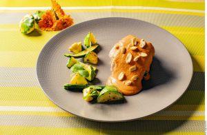 Otoño con un tradicional guiso mexicano: Lomo de cerdo en salsa encacahuatada