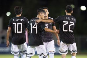 Triunfo redondo del 'nuevo' Tri : México destrozó a Bermudas en su debut en la Nations League