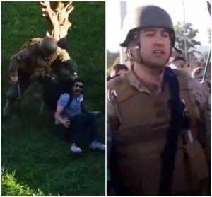 Las dos caras de los militares en medio de las protestas en Chile