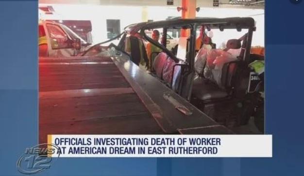"""Trabajador murió en construcción de mega mall """"American Dream"""" en Nueva Jersey"""