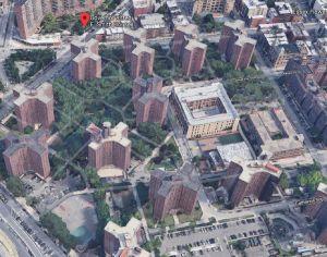 Abuelita cae del piso 17 de un edificio NYCHA en Manhattan