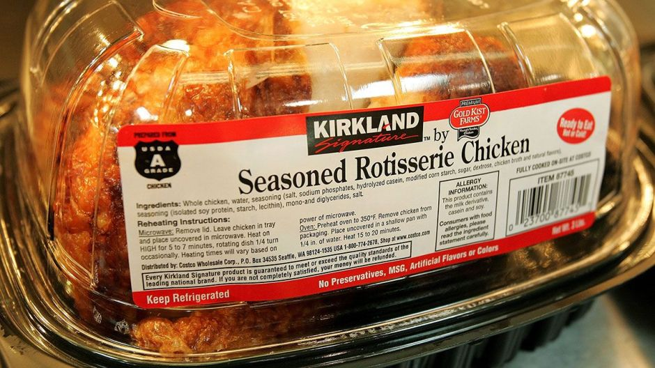 5 secretos que no sabía sobre el pollo rostizado de Costco