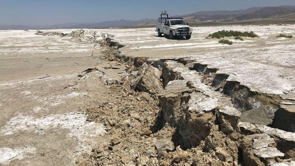 Caltech y NASA encuentran una red de rupturas en el terremoto de Ridgecrest en California