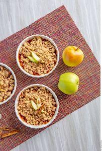 ¡El más dulce otoño! Extraordinaria receta de Crumble de manzana y canela