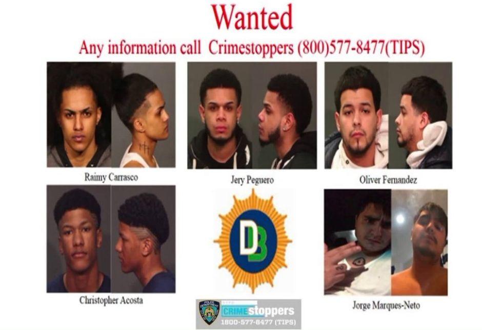 """Detienen a 10 y buscan a 5 pandilleros """"Trinitarios"""", en víspera de sentencia por crimen de Junior Guzmán"""