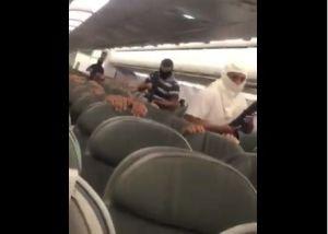 """VIDEO: Graban """"secuestro"""" de avión, aerolínea aclara que es un simulacro"""