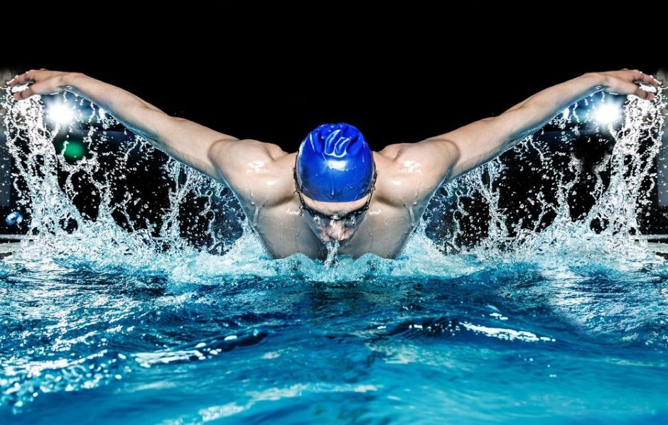 How much to swim per week to lose weight