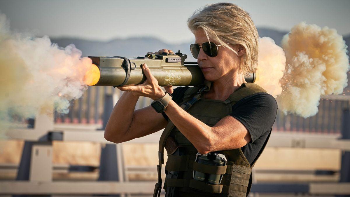 "Linda Hamilton: ""I'm a fucking badass!"""