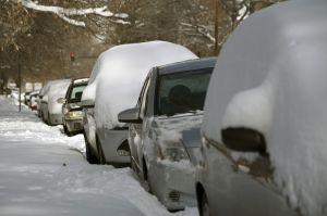 Nieve, frío y condiciones imposibles para viajar el Día de Acción de Gracias