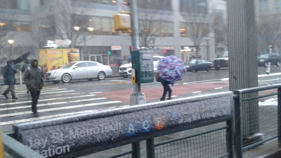 El frío hoy podría superar récord histórico del año 1873 en Nueva York
