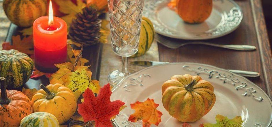 5 ideas creativas y económicas para decorar la mesa de comer en Acción de Gracias