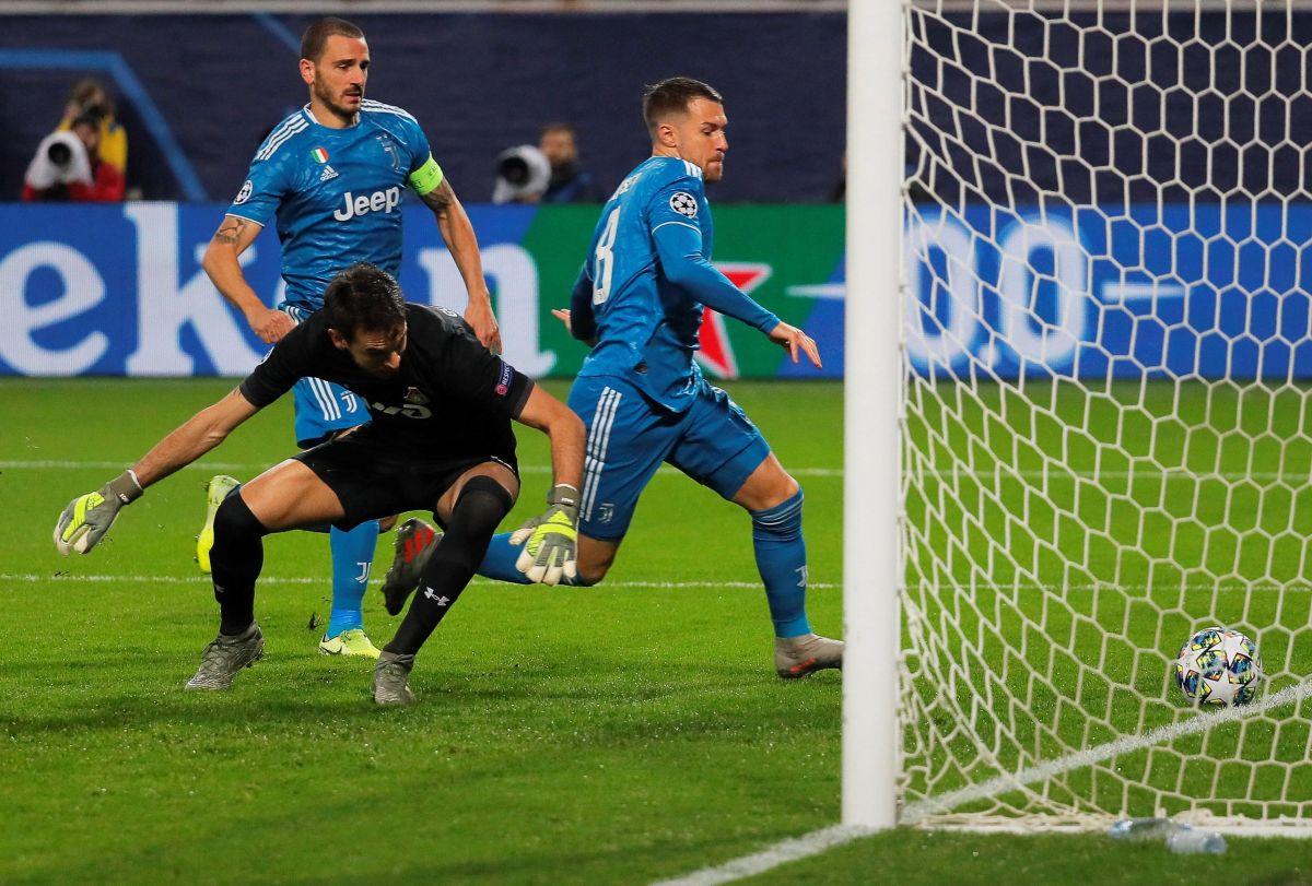 ¡Cuídense famosos! Ramsey anotó gol en la Champions mientras que CR7 hizo berrinche