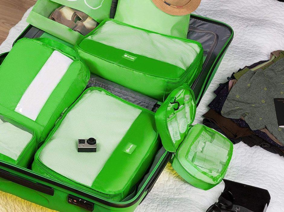 5 sets de estuches viajeros para empacar tu ropa más fácil y convenientemente