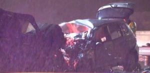 Identifican al conductor qua causó violento accidente carretero en Dallas; conducía en sentido contrario