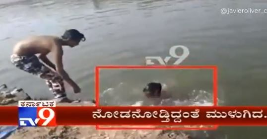Joven muere ahogado mientras sus amigos lo grababan