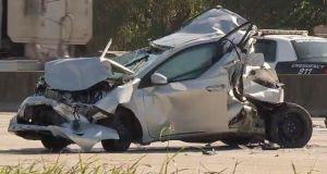 Houston: Se bajaron a inspeccionar sus autos y terminaron muertos