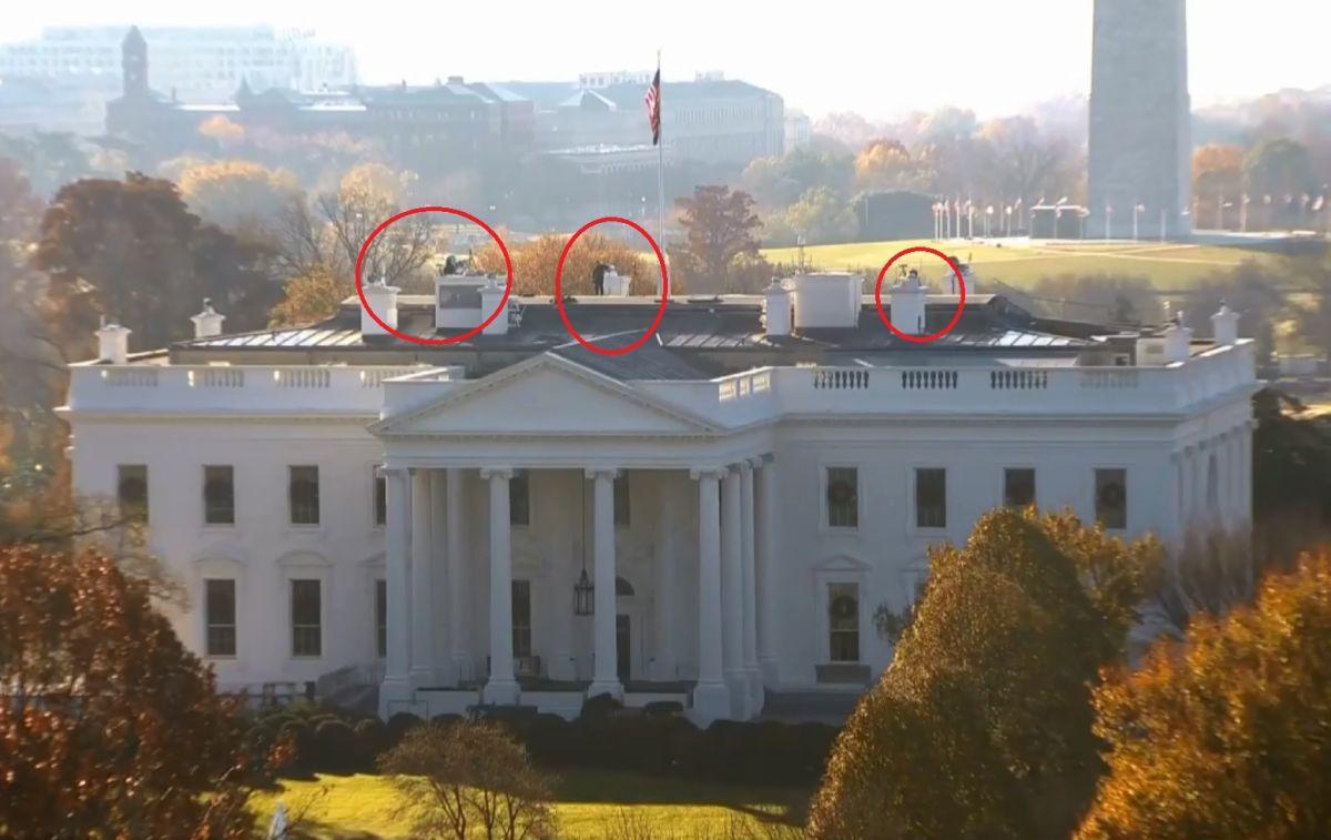 Servicio Secreto en alerta por avión que sobrevuela la Casa Blanca