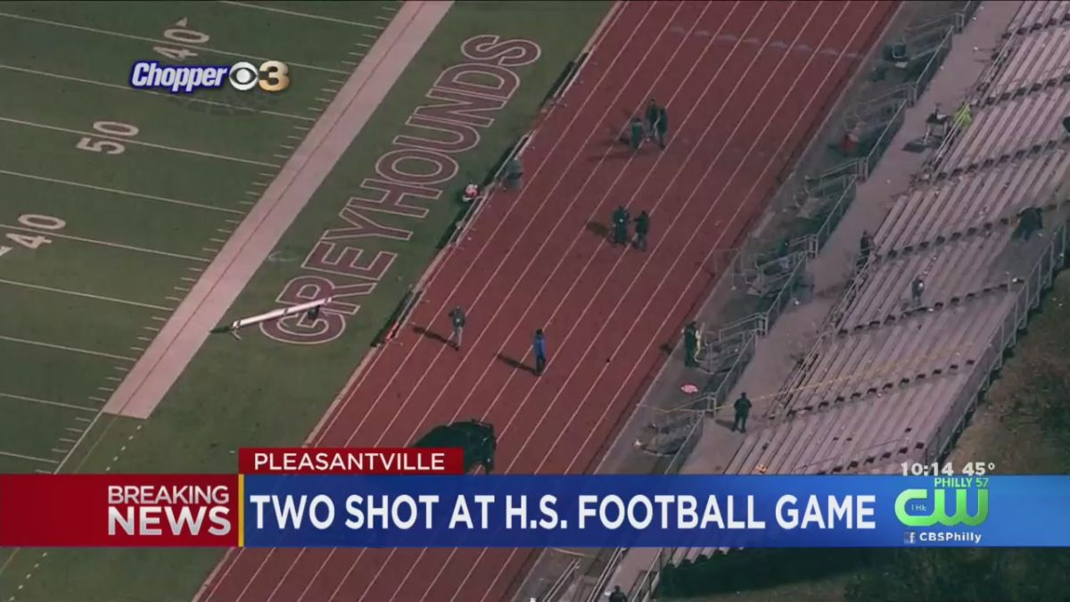 Dos heridos graves en tiroteo durante juego de fútbol en secundaria de Nueva Jersey