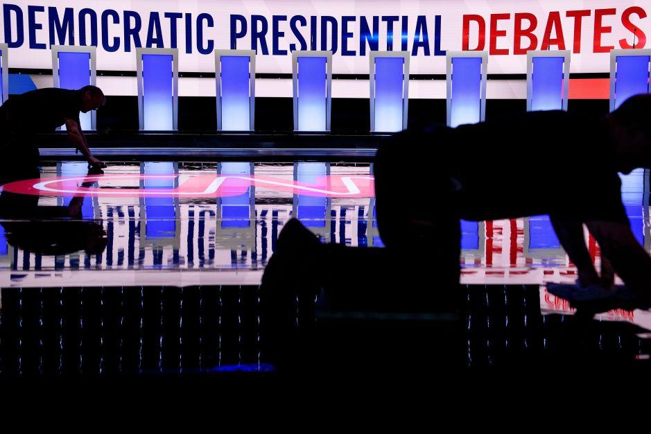 Debate demócrata: Diez candidatos presidenciales se enfrentan en Atlanta