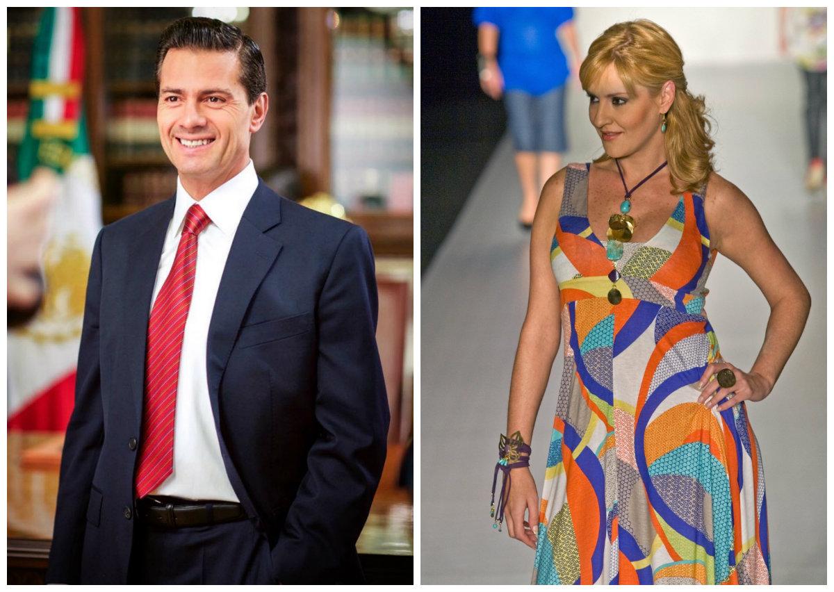 Enrique Peña Nieto y Chantal Andere.