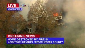 Incendio arrasa ex mansión de familia Gucci en Nueva York