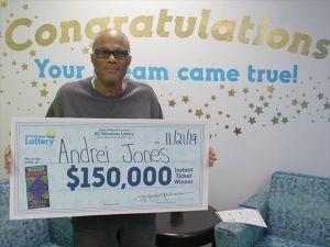 Veterano del ejército gana la lotería dos veces en dos meses