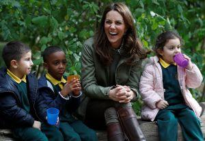 Kate Middleton prueba ser mucho más humilde y relajada que la Reina de España