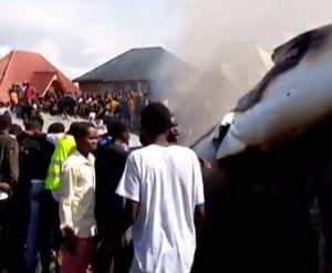 Al menos 26 muertos deja accidente aéreo en El Congo