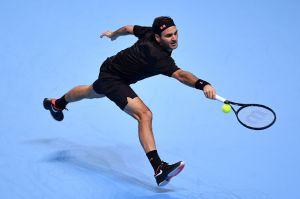 Roger Federer se juega la vida en el ATP Finals