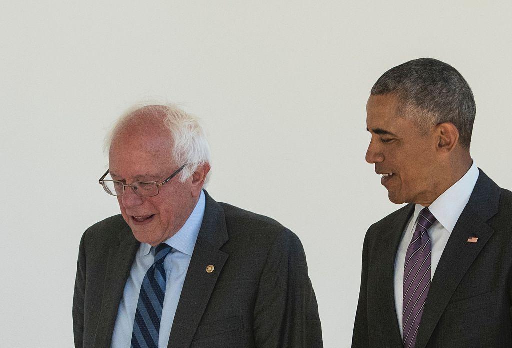 Obama se opondría a Bernie Sanders como candidato demócrata