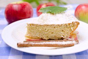 Angel Food Cake bajas calorías para disfrutar como postre durante el embarazo