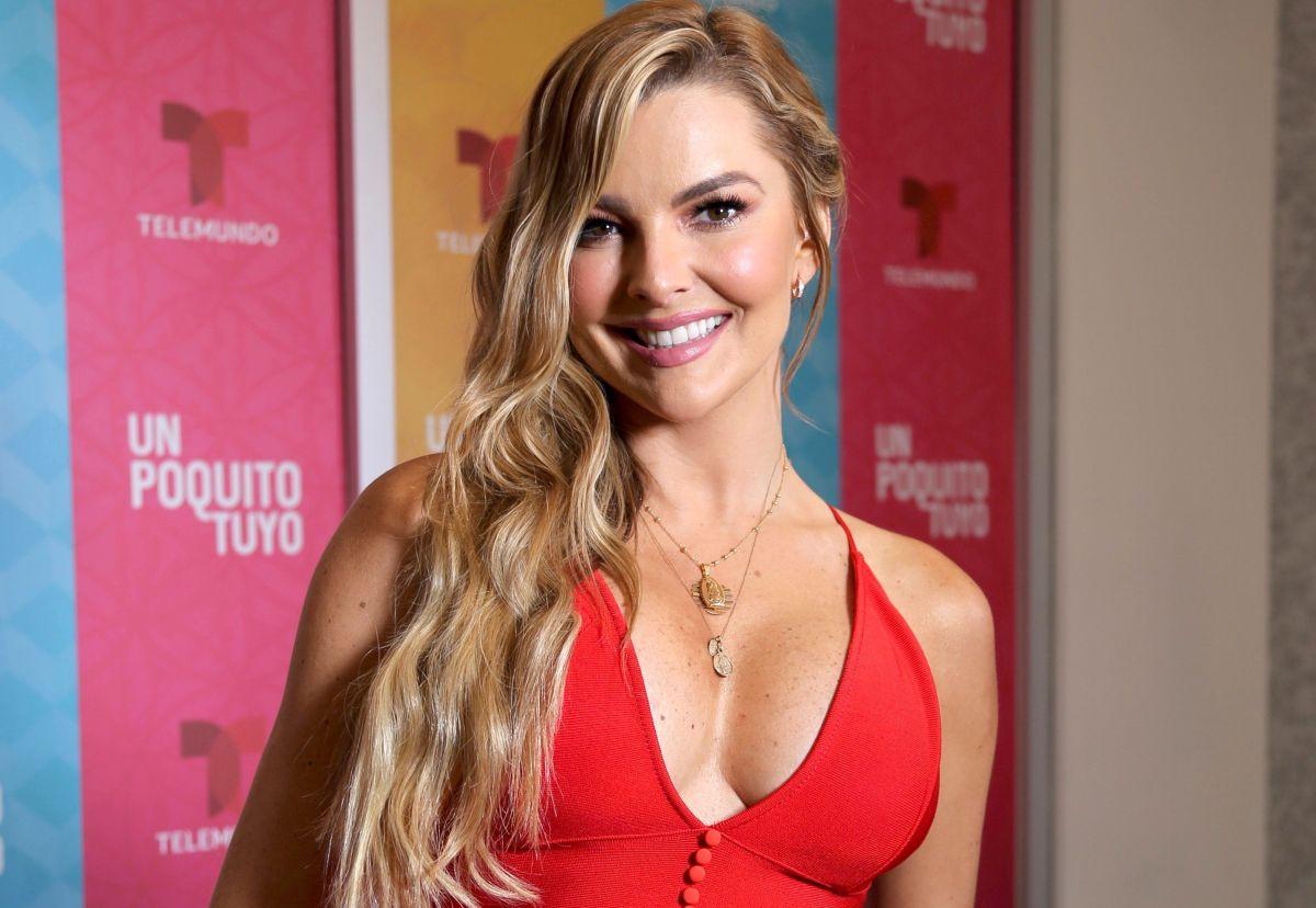 Marjorie de Sousa se destapa: un brasier color nude y cada vez más atrevida