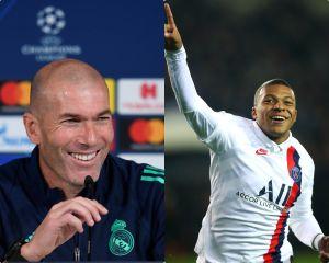 Love is in the air: Zinedine Zidane confiesa que está enamorado de Mbappé