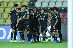 ¡De milagro! México golea y avanza a octavos de final del Mundial Sub-17