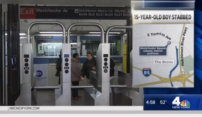 Adolescente fue apuñalado varias veces esperando el Metro de Nueva York