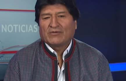 """El gobierno interino de Bolivia acusó a Morales de """"sedición y terrorismo""""."""