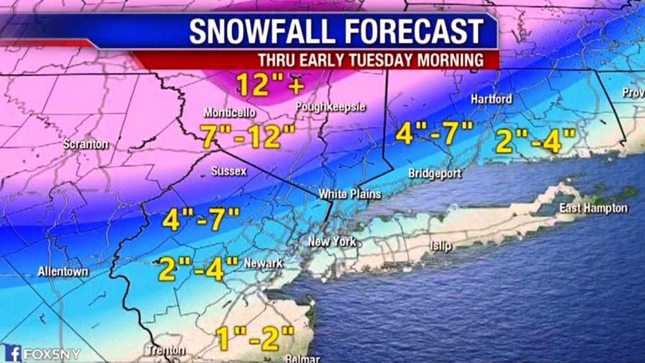 Alerta por primera nevada en Nueva York de domingo a martes; muchos vuelos cancelados