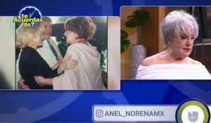 La foto de Anel Noreña con José José y Sara Salazar que casi la hace llorar