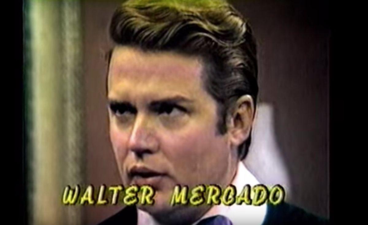 Así lucía y actuaba Walter Mercado cuando hizo telenovelas