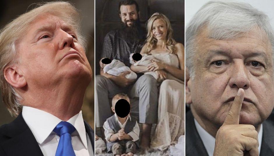 Trump ofrece ayuda a México contra narco tras masacre de familia LeBarón; AMLO la rechaza… por ahora