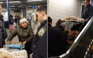 VIDEO: Arresto de vendedora de churros hispana en el Subway provoca indignación en Nueva York