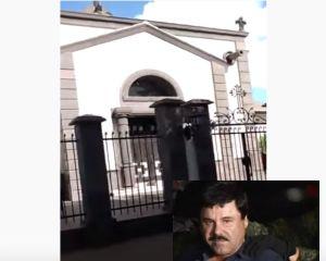 VIDEO: Así es la ostentosa tumba de Édgar Guzmán, el hijo muerto de el Chapo Guzmán